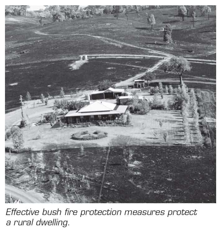 Asset Protection Zone example image (NSW RFS)